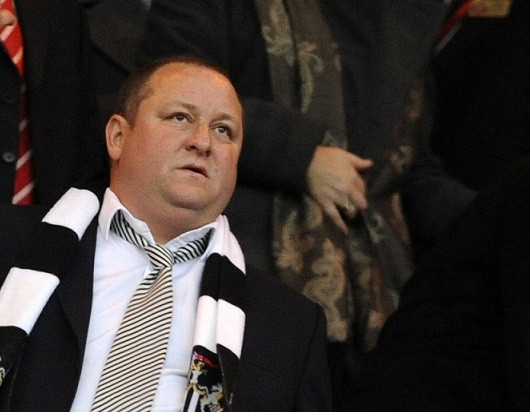 Pulling the strings at Newcastle: Owner Mike Ashley