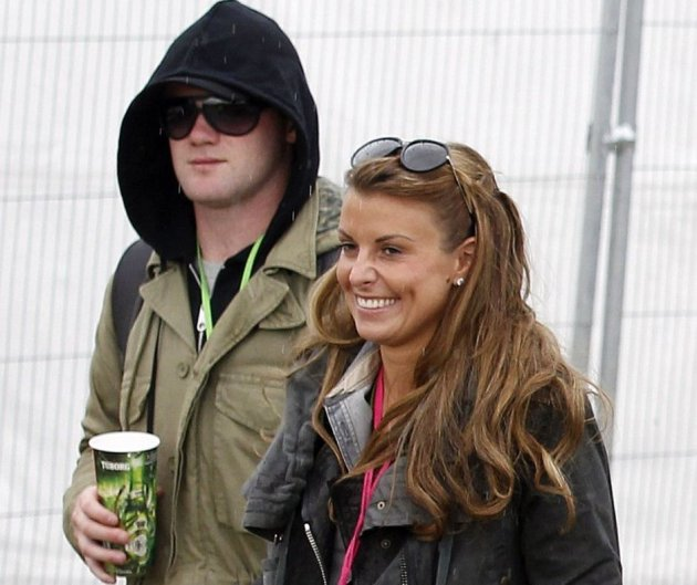 Coleen and Wayne Rooney expecting their second child