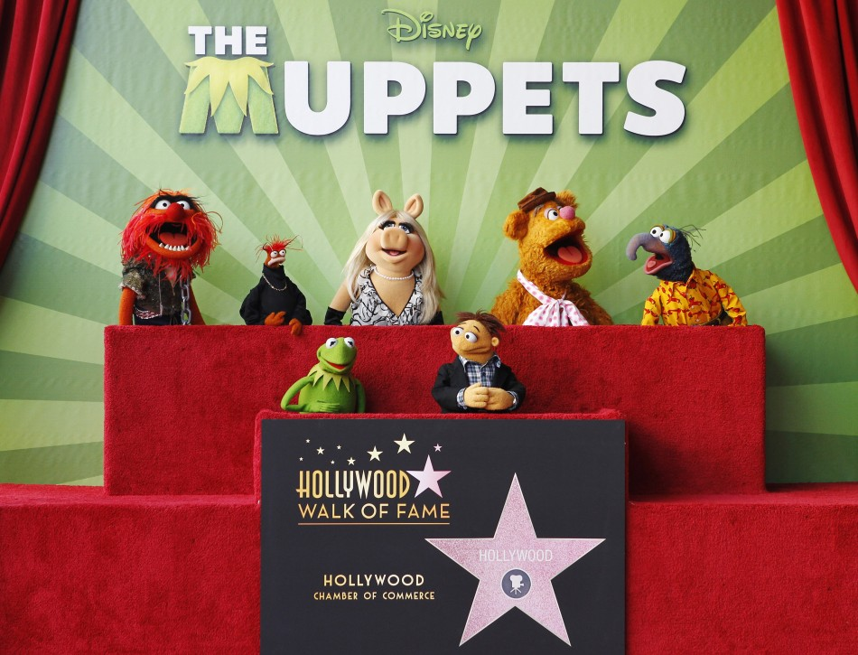Muppet characters take part in ceremonies honoring them with a star on the Hollywood Walk of Fame in Hollywood (Photo: Reuters)