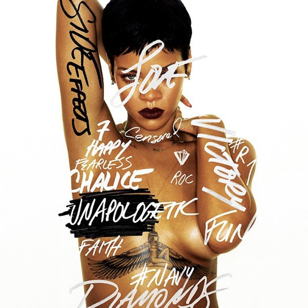 Rihanna Unapologetic album cover