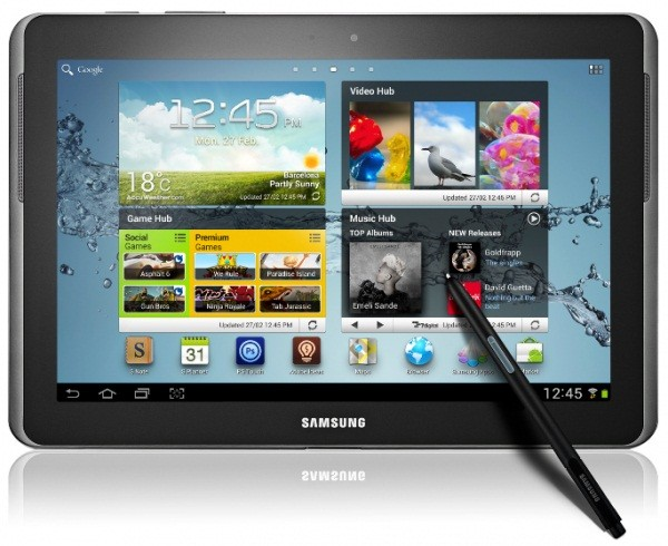 Galaxy Note 10.1 N8000 Gets Official Android 4.0.4 ICS Update with XWALI5 ROM [How to Install]