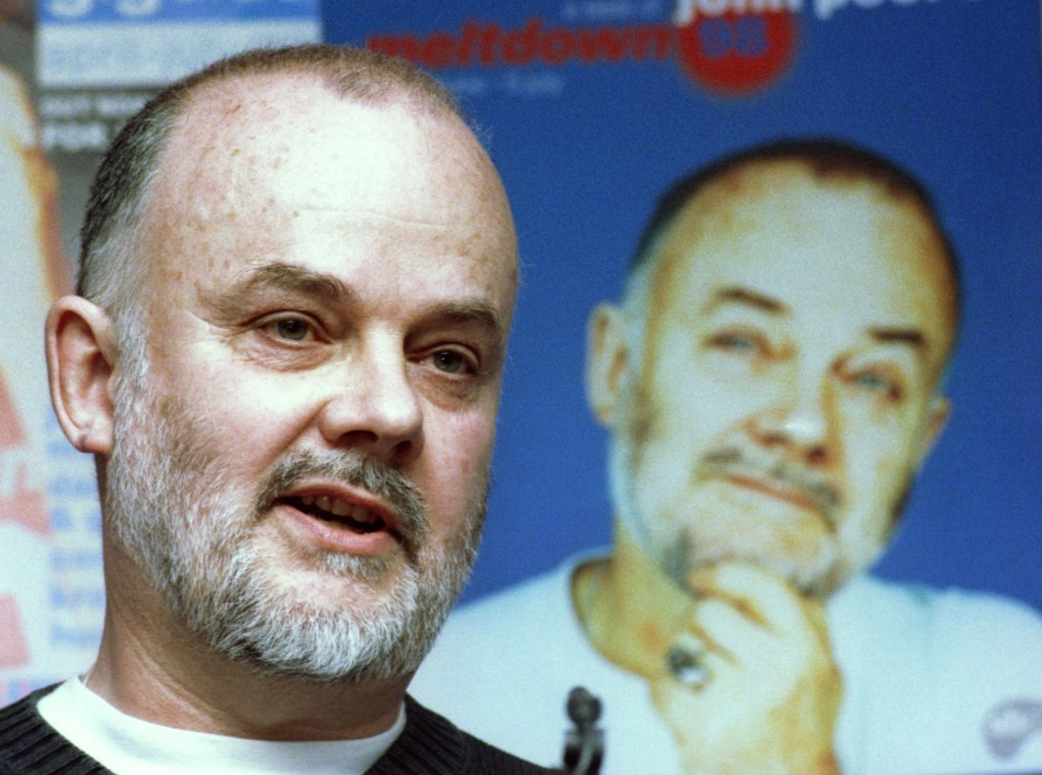 Veteran DJ John Peel died in 2004 aged 65 (Reuters)