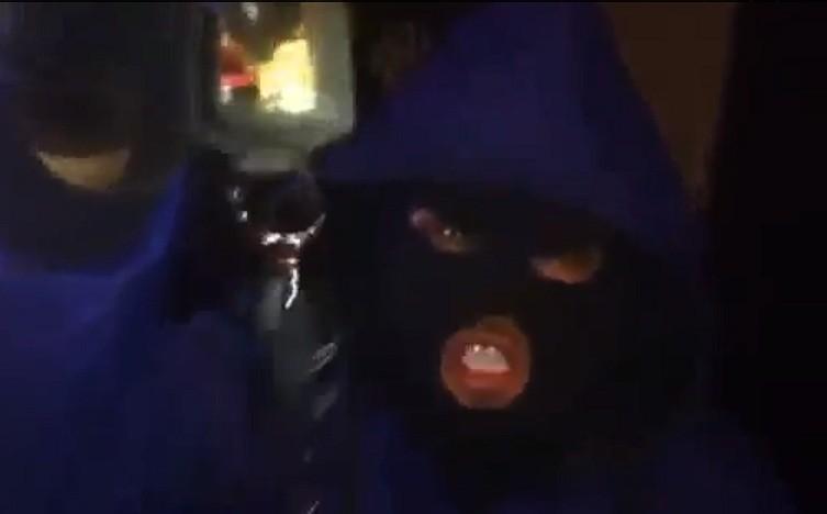 Threats: Dozy thug warns Khan in YouTube blast