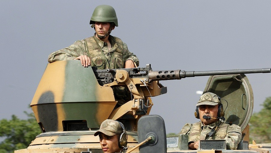 Turkey increases military