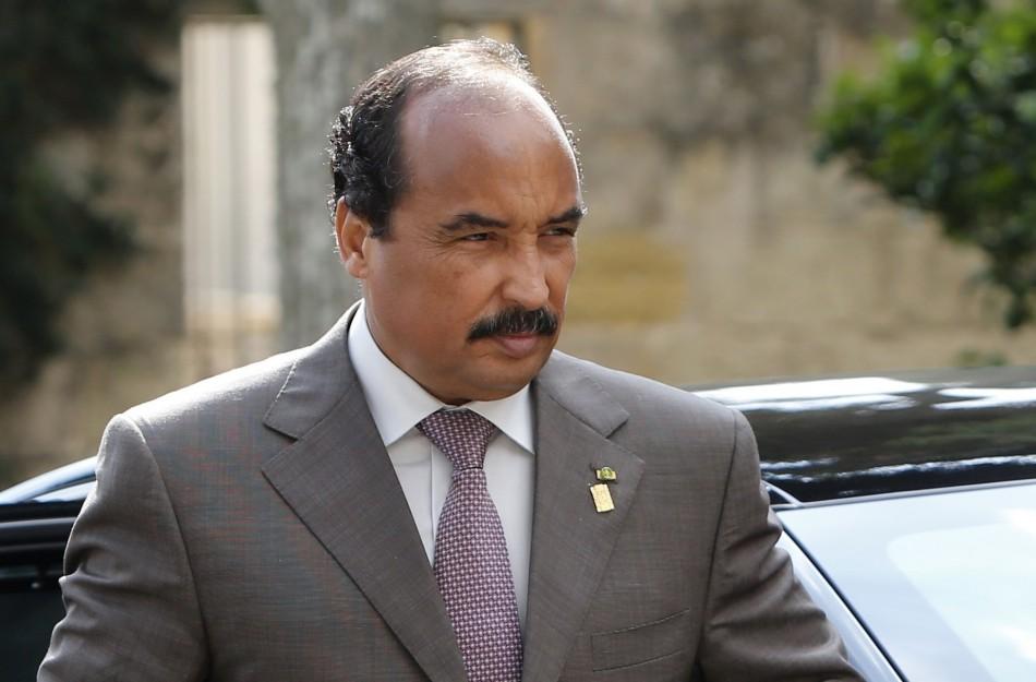 Mauritania's President Abdel Aziz