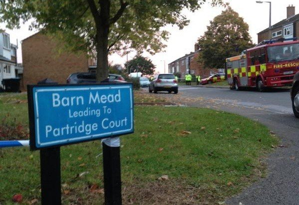 Harlow house fire