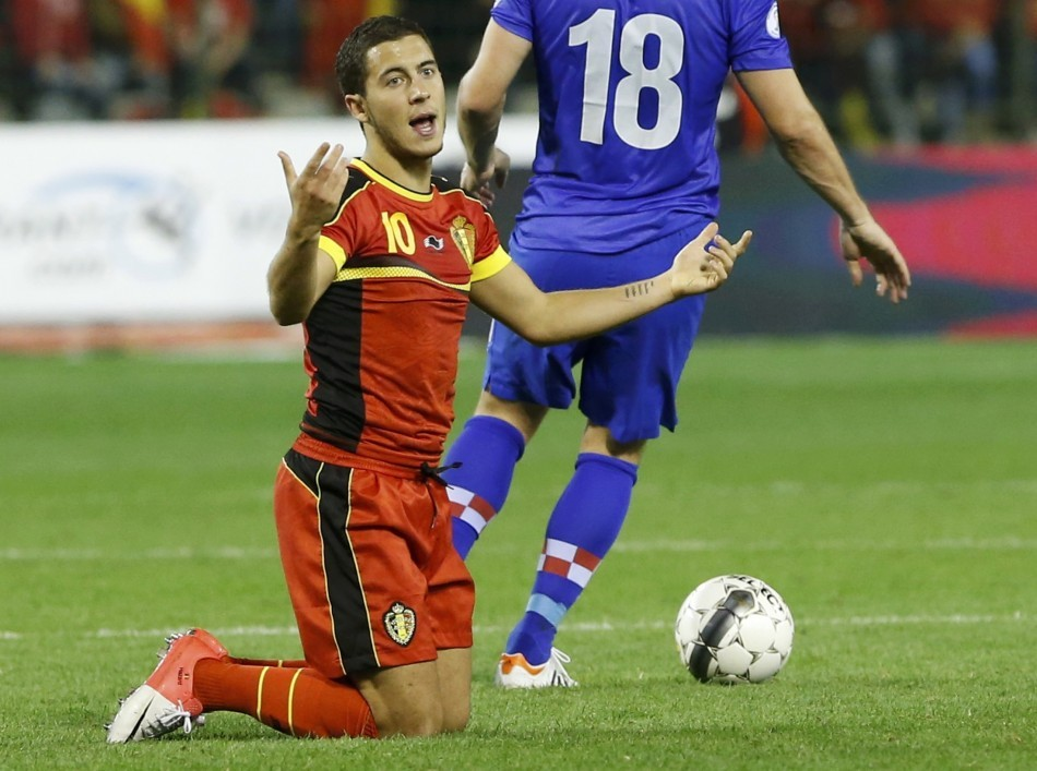 Belgium Manager Admits Eden Hazard Problems