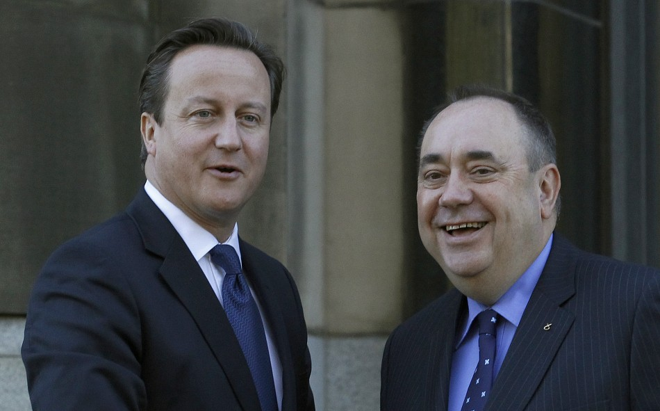 David Cameron and Alex Salmond