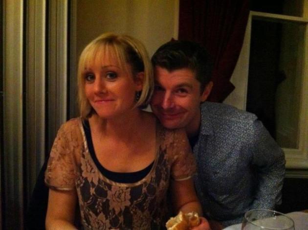Happy together: Lindsay and Darren