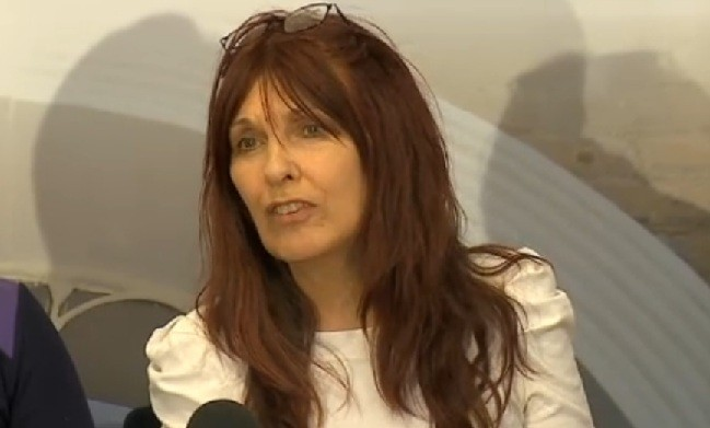"Janice Sharp told reporters she was ""overwhelmed"" at the decision to not extradite her son."