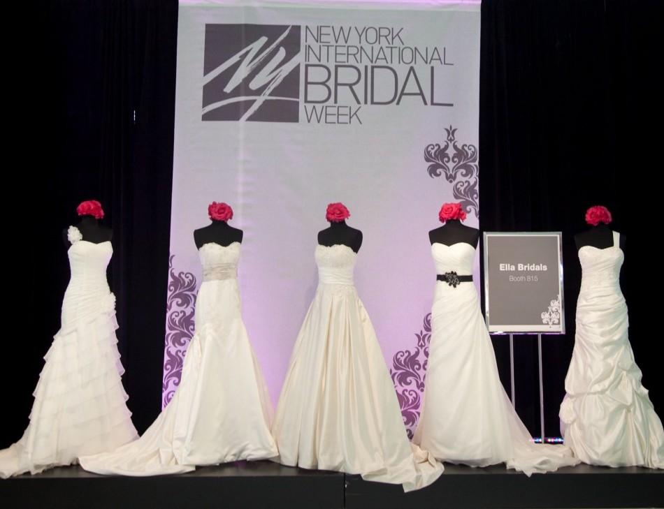 Wedding Gowns New York: New York Bridal Fashion Week 2012: Fall 2013 Wedding