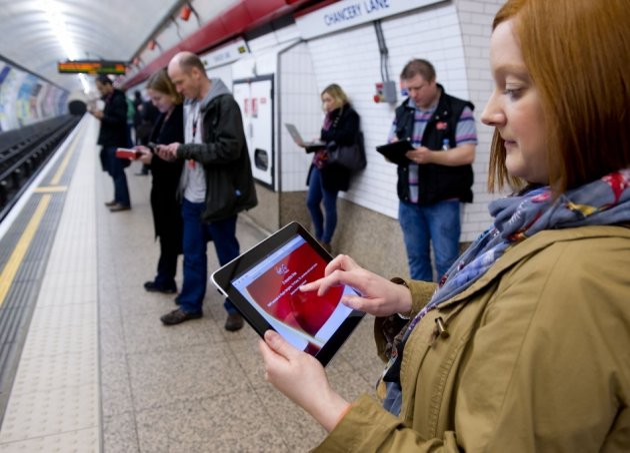 Wi-Fi on the Underground