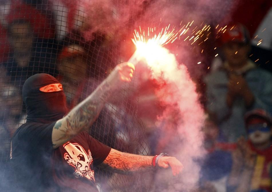 Serbia fans