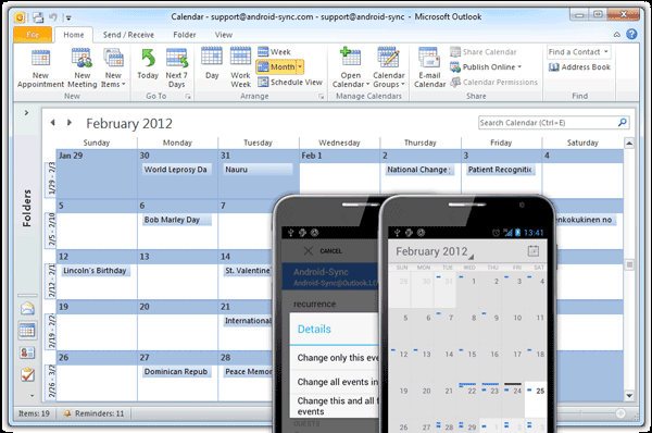How to Backup Microsoft Outlook Contacts, Calendars, Tasks and Notes in Android [Tutorial]