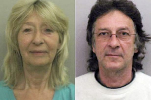 Susan Cooper (L) and Michael Foster (Lincolnshire Police)
