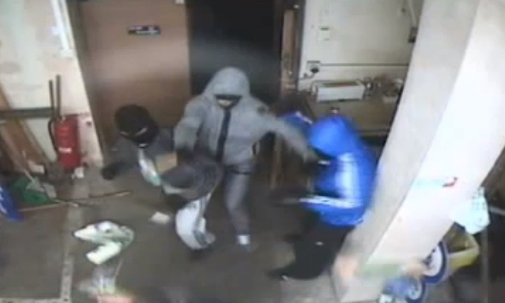 The incident happened at the KP Supermarket, Harpurhey on 13 October 2012 (GMP)