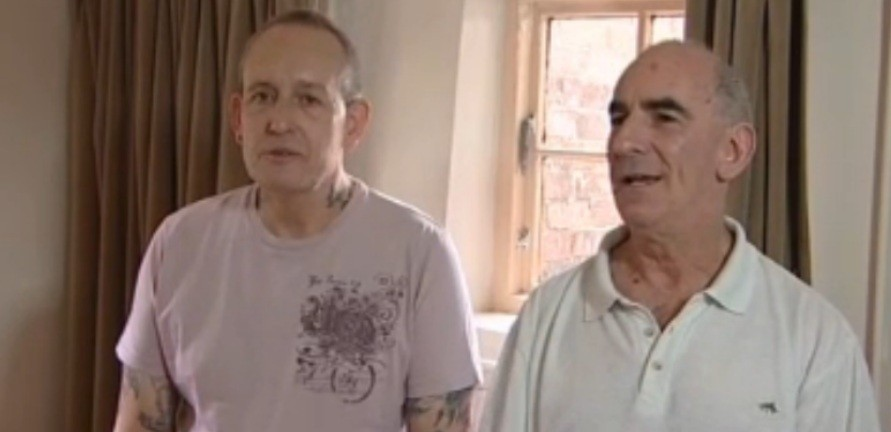 John Morgan (L() and John Morgan have been awarded £1,800 each in damages (BBC)
