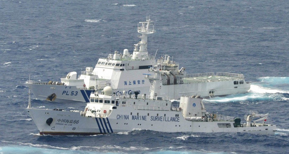 China Conducts Naval Drills