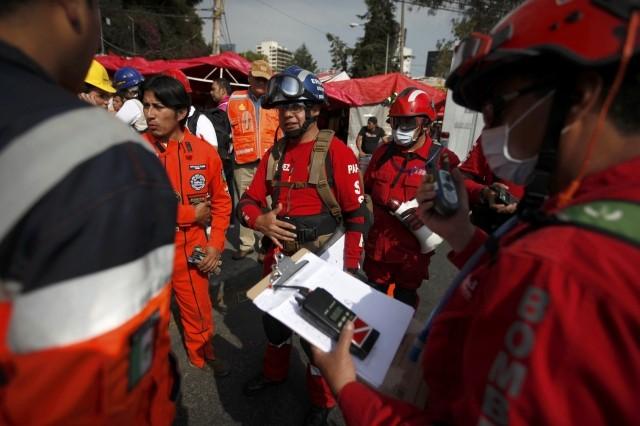 Earthquake Evacuation Drill