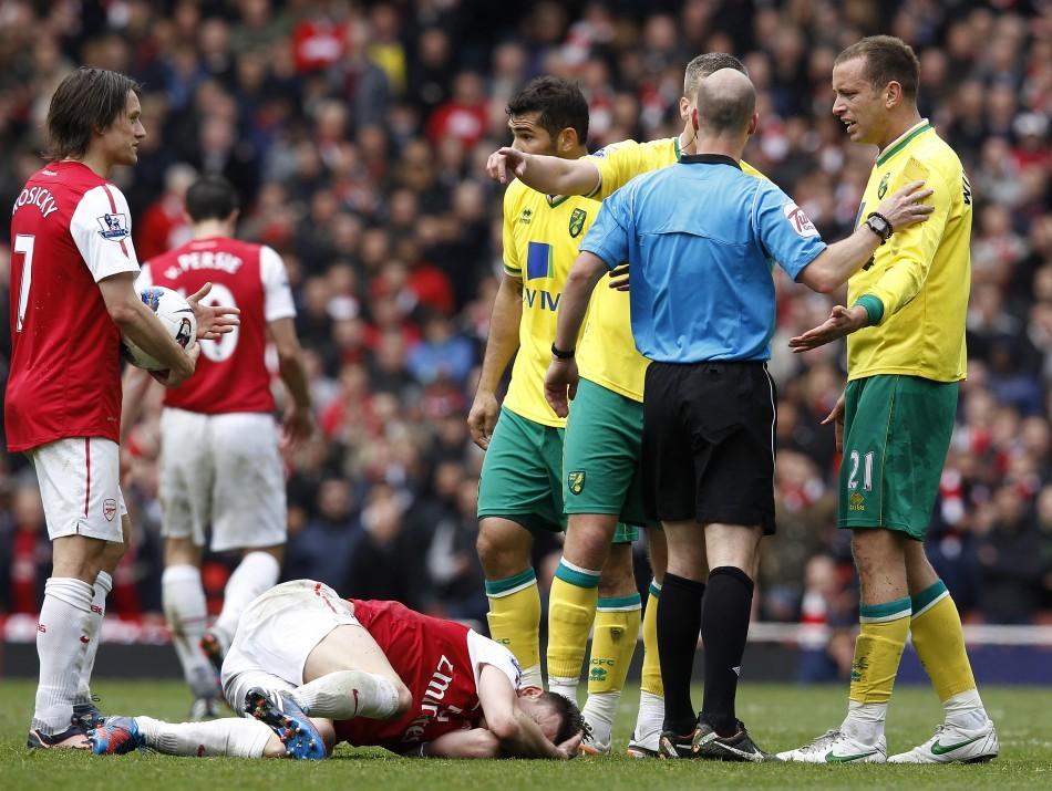 Norwich City v Arsenal