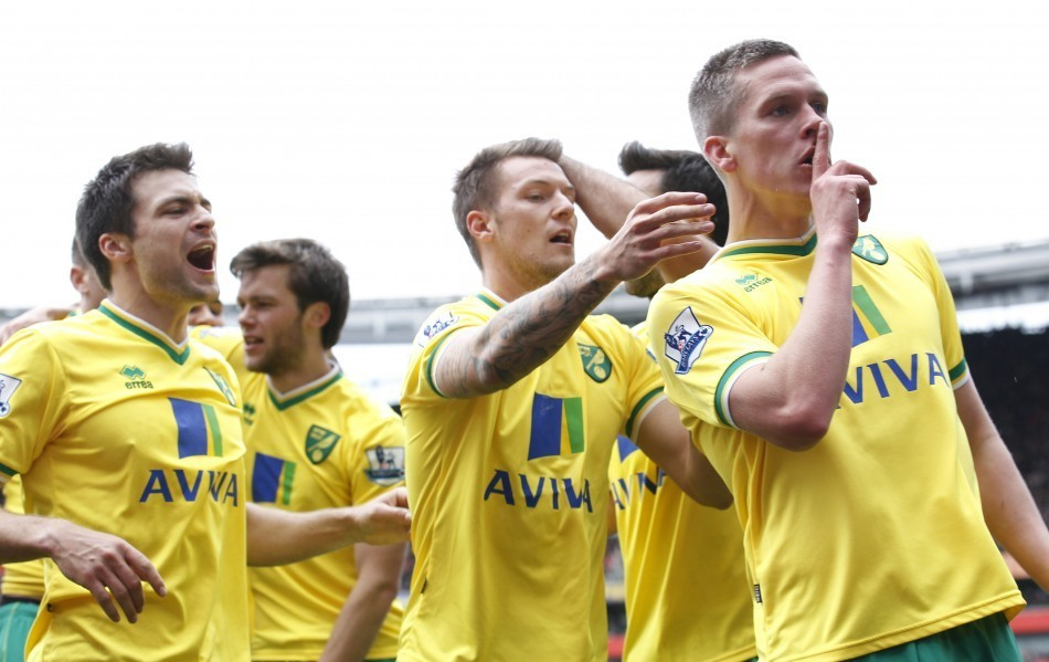 Norwich City at Anfield
