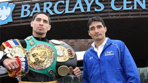 Erik Morales and Danny Garcia