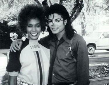 Tragic superstars: Whitney Houston and Michael Jackson