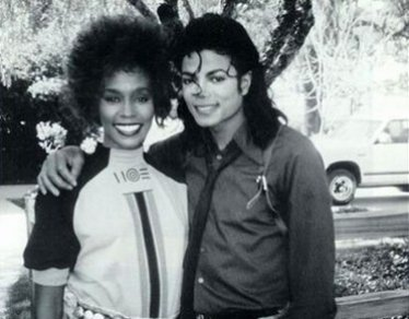 Tragic superstars: Whitney Houston and Michael Jackson