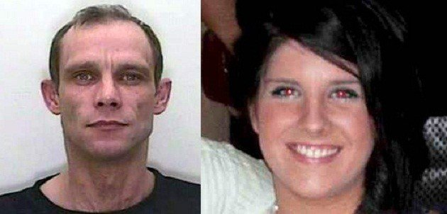 Christopher Halliwell (L) pleaded guilty to the murder of Sian O'Callaghan (Avon and Somerset Police/Facebook)