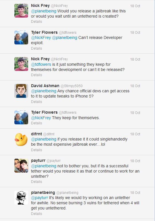 iOS 6 Jailbreak: New Status Update From Planetbeing