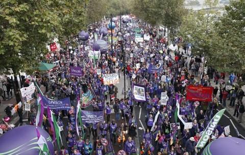 Anti-Austerity March, London 2012