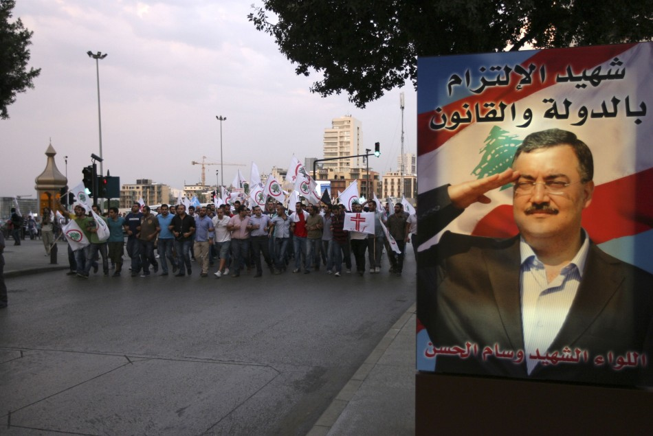 Funeral for Wissam al-Hassan
