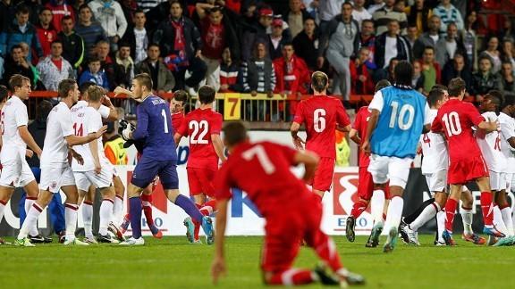 Serbia v England