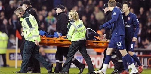 Aaron Ramsey injury