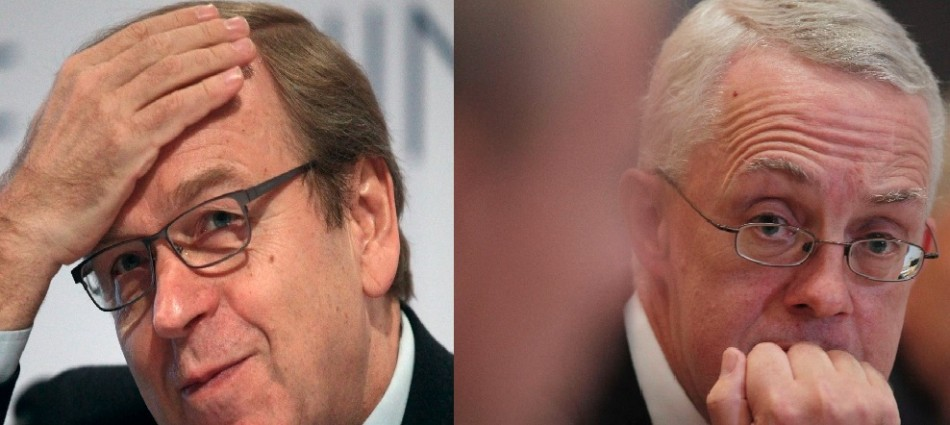 Finnish central bank governor Erkki Liikanen and Sir John Vickers, Chair of the Independent Commission on Banking both propose ring fencing of retail and investment banking operations (Photo: Reuters)