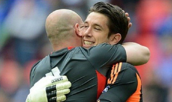 Pepe Reina and Brad Jones