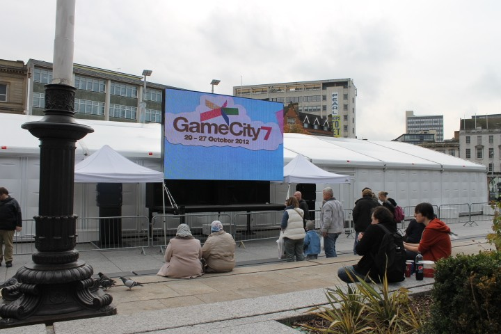 GameCity banner