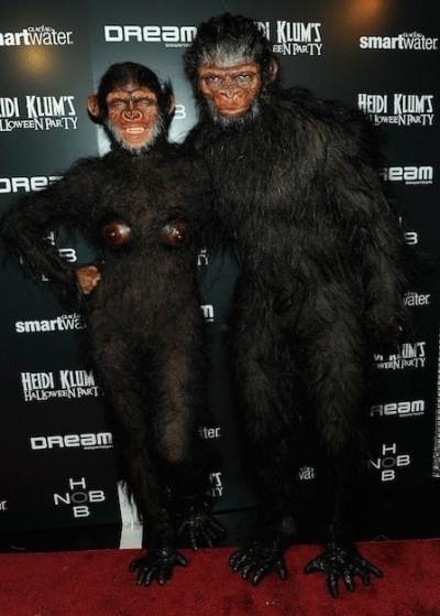 Heidi Klum and ex-husband Seal in 2011