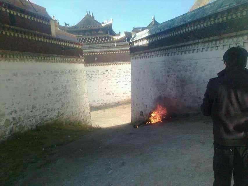 self-immolation