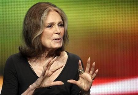 Writer and activist Gloria Steinem