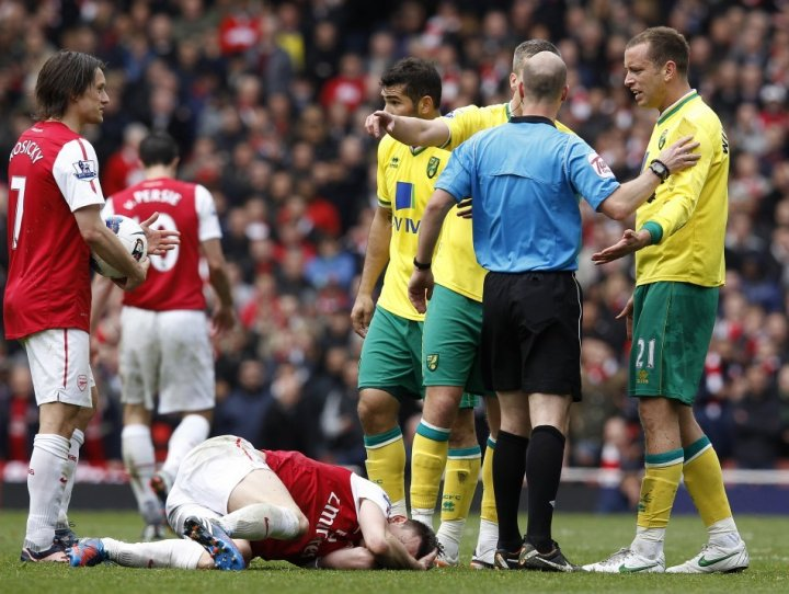 Norwich City v Arsenal