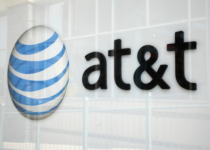 AT&T Wireless Logo.