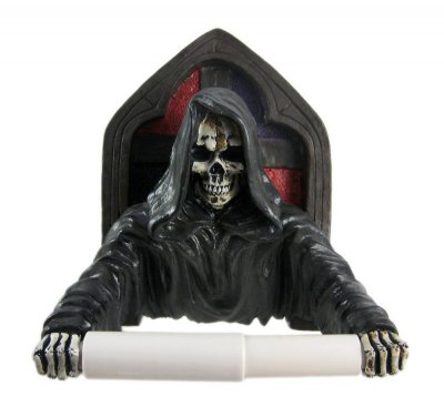 Grim Reaper Toilet Roll Holder