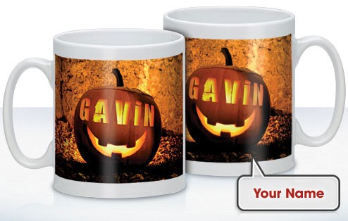 Personalised Halloween Mug