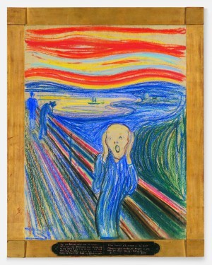 Edvard Munch's iconic The Scream (1895). (Photo: The Museum of Modern Art)