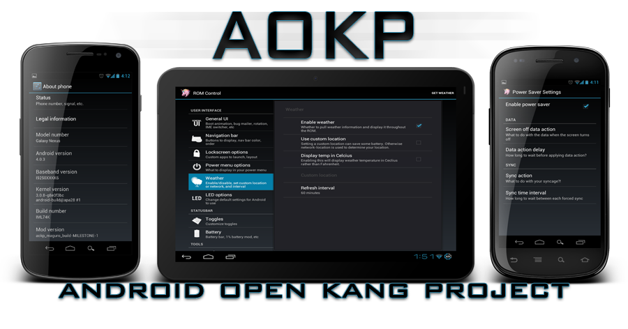 Galaxy S I9000 Gets Android 4.1.2 Jelly Bean with AOKP Build 5 ROM [How to Install]