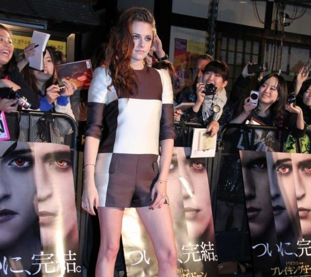 Kristen Stewart Hits Japan: 'Breaking Dawn' Promo