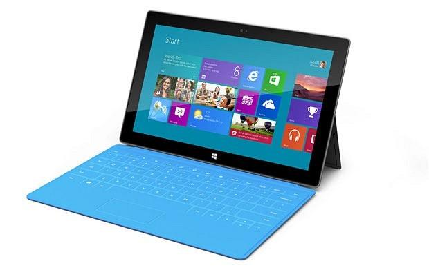 Microsoft Surface Tablet Windows RT