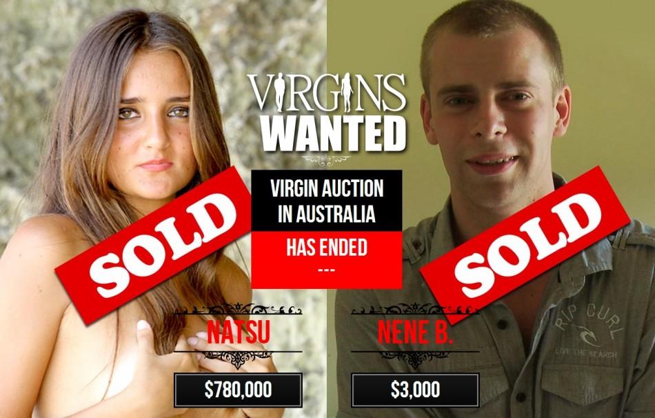 online Sells virginity