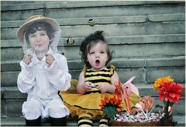 Halloween Bee Keeper Costume